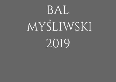 BAL MYŚLIWSKI 2019